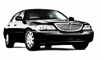 Image of black Cheshire Lincoln Town Car