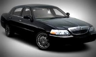 Image of Mansfield CT black Lincoln Town car