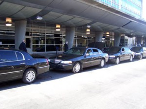 black-sedan-bdl-airport-image