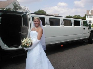 connecticut wedding limo photo