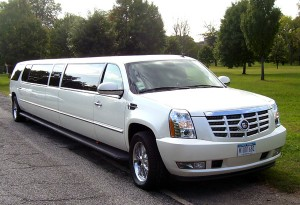 CT escalade limo