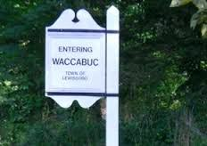 Image of entering Waccabuc