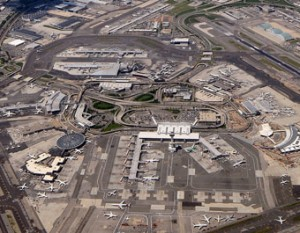 Construction begins on new terminal at new york's JFK airport photo