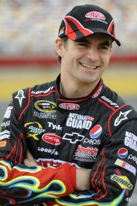 NASCAR cuts Jeff Gordon 25 points for wrecking car services with Bowyer image