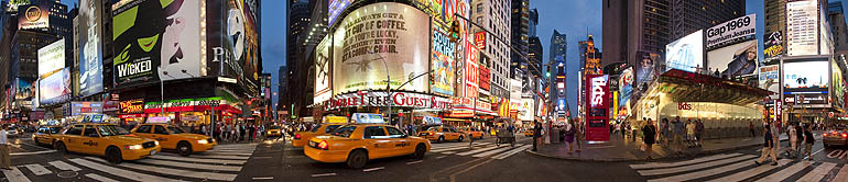 Photo Of Times Square - Banner