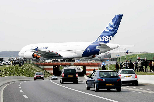 Airbus A380 Size picture