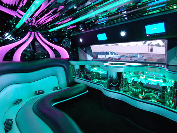 CT H2 Hummer Teal Magic Interior image