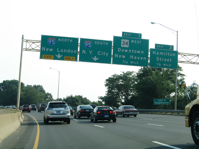 Connecticut I90 Highway picture