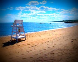 Image of Connecticut beach